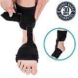 Soft AFO Brace,Nicehel Dorsal Night Splint Foot Drop Orthotic Brace Soft Ankle Foot Orthosis (AFO) for Foot Drop