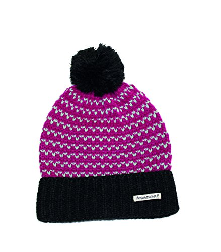 Horseware Bobble Hat & Snood - Fuchsia /One Size