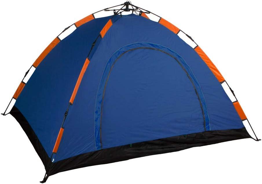 color azul auto montable 85076 medidas 200 x 150 Tienda Camping igl/ú para 3 personas Aktive