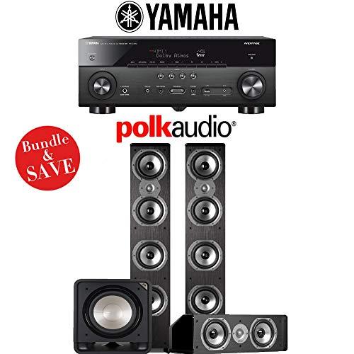 Yamaha RX-A780 AVENTAGE 7.2-Channel AV Receiver + Polk Audio