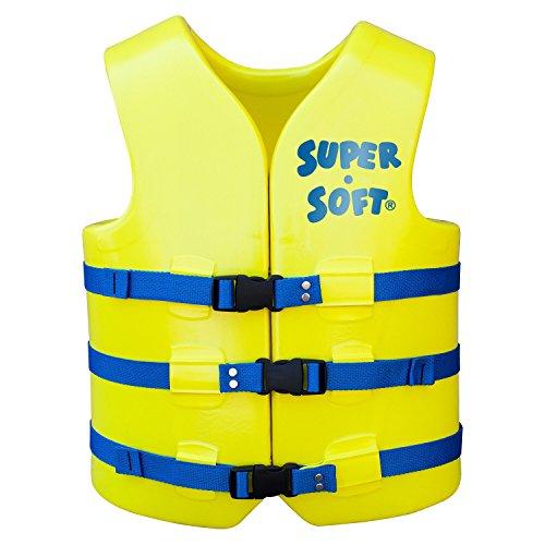 Trc Recreation Adult Super Soft Uscg Vest  Yellow  X Small