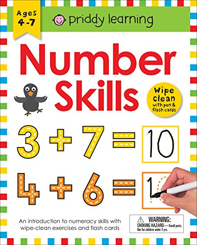 Wipe Clean Workbook: Number Skills (enclosed spiral binding) (Wipe Clean Learning Books) -