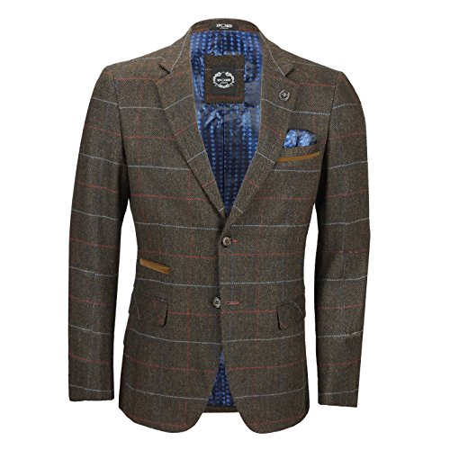 earth Brown Abito Xposed Blazer Uomo w0qTUztnx8