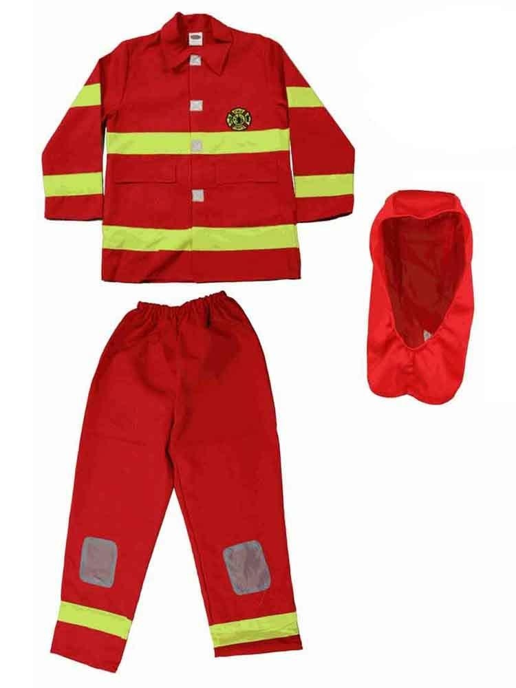 (Y1SE 367 Small (4-6)) - DUA Fireman Costumes Boys Size 4-10 Red [367] Y1SE 367 Small (4-6)  B00J3WUYPC