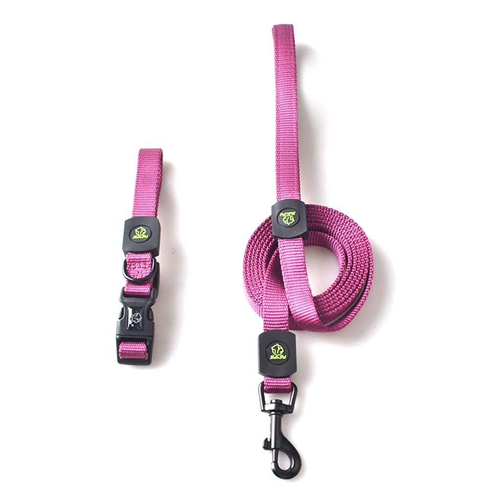 6  MDSADDSD Pet leashes collars traction Rope Adjustable Durable for Walking And Traning Pet Supplies (color   4 , Size   M)