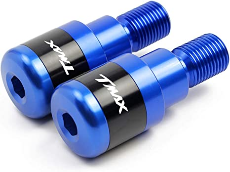 TMAX 500 530 560 accessori,Contrappesi per manubrio,Set Moto Manubrio Blocco Manopole Tappo Alluminio per Yamaha TMAX T-Max 500 530 560