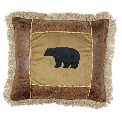 (Black Forest Décor Pillow (Saranac Lodge Bear) )