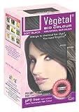 vegetal color - Vegetal Bio Colour - Soft Black 50gm, Pack of 3
