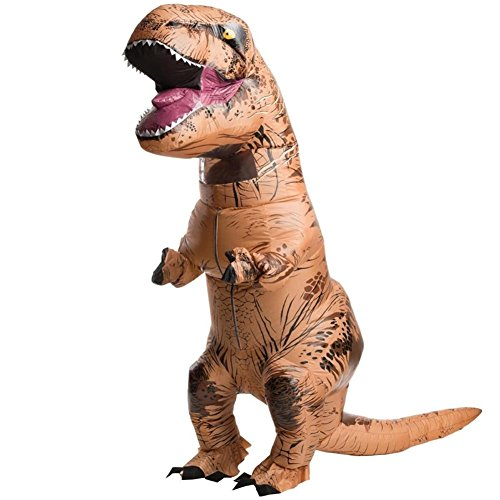Han Shi Adult Costume Dinosaur Costume ADULT SIZE Trick Halloween Playmate Make-Up Dress-Up (Halloween Costume Ideas With Glasses)
