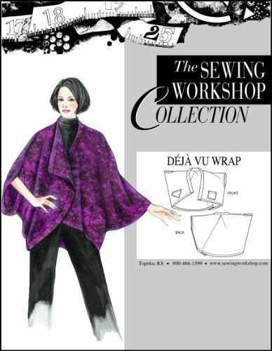 - The Sewing Workshop Déjà Vu Wrap Sewing Template, Multi-Size