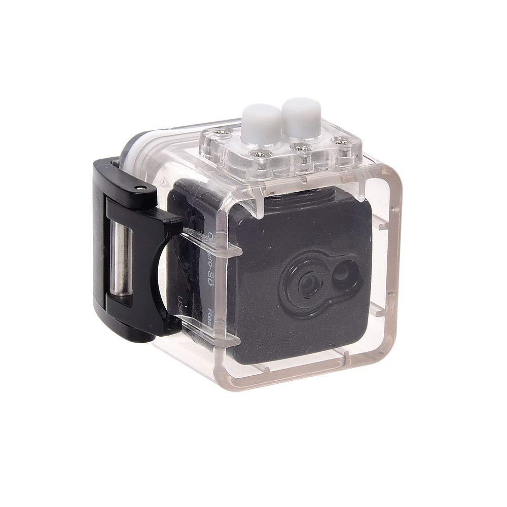 サンコー 指でつまめる防犯サイコロカメラ防水ケース付き