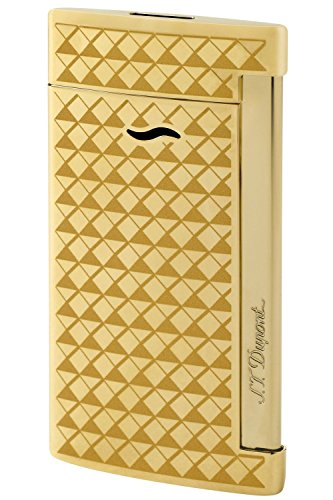 S.T. Dupont Golden firehead Slim 7 Lighter for sale  Delivered anywhere in USA