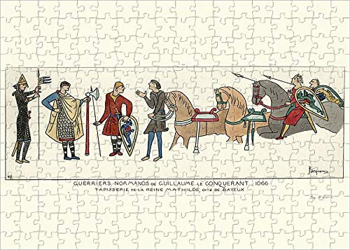 Media Storehouse 252 Piece Puzzle of Norman Warriors of William The Conqueror, 1066 (19604163)