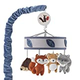 Lambs & Ivy(R) Little Campers Gray/Blue Musical Mobile