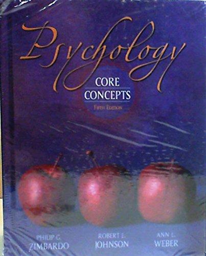 Psychology: Core Concpts & Mypsych lab Pkg