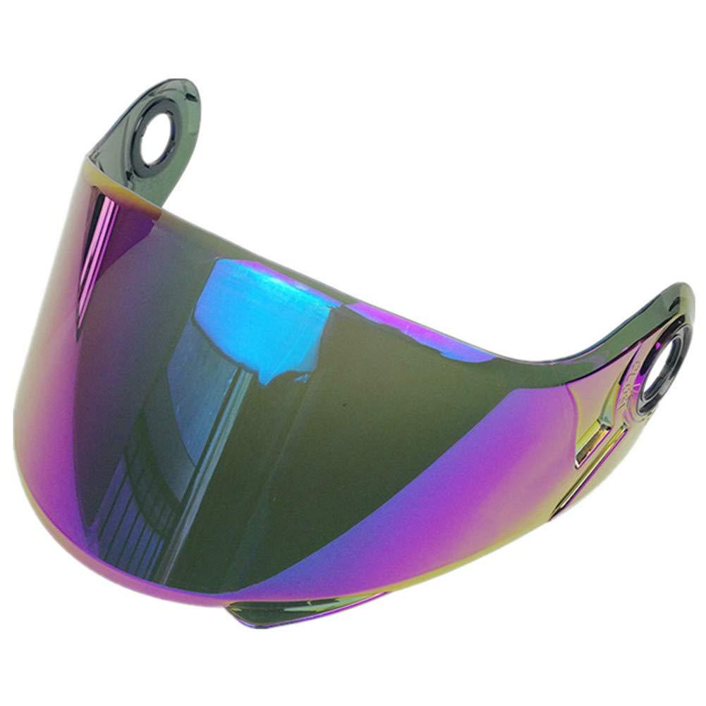 LS2 FF325 Strobe Visor FF370 FF386 Flip Up Helmet Visor Replacement Modular Helmets Windscreen Lens Chrome Silver