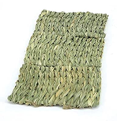 Ware Manufacturing Natural Handwoven Grass Multi-Use Pet Mat for Small Animals by Ware Manufacturing Inc.