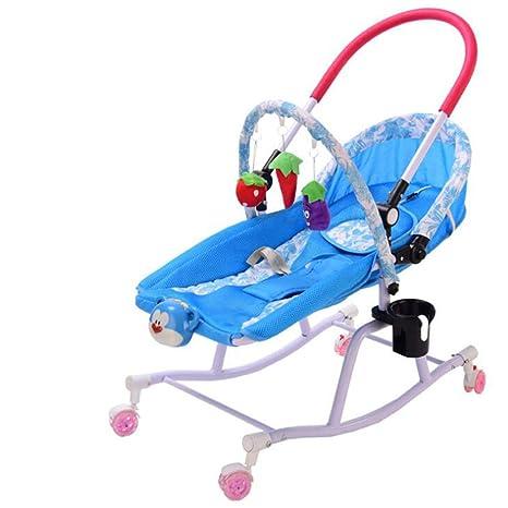 WXX Silla Mecedora para bebés, reclinable Inclinado, Silla ...