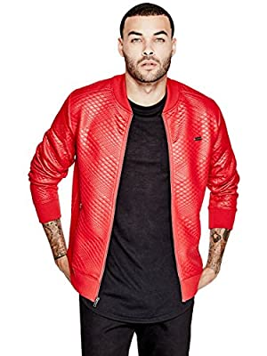 G by GUESS Men's Keef Varsity Jacket