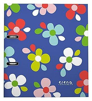 Grafoplas Elena Correidora - Archivador con palanca de 65 mm, A4, diseño 15 Flores: Amazon.es: Oficina y papelería