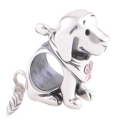 [Sponsored]Golden Retriever Dog Charm Bead - Sterling Silver 925 - Gift boxed zXdXcdmG
