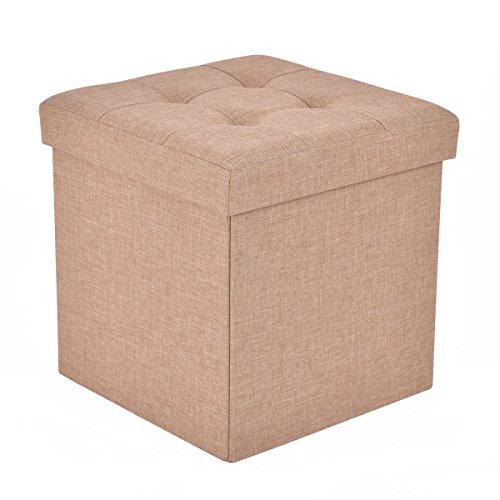 Giantex Folding Storage Footrest Furniture