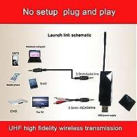 Tuankay Audio Digital Transmitter Receiver Uhf Hifi Wireless For