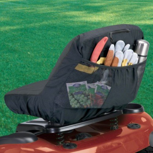 Classic Accessories 12324 Deluxe Riding Lawn Mower Seat Cover, Medium