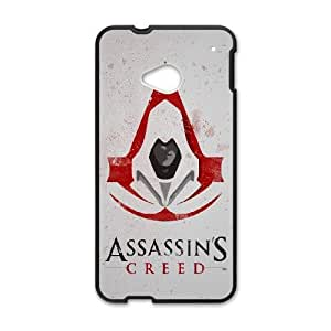 HTC One M7 Assassin's Creed pattern design Phone Case HAC13SJ12336
