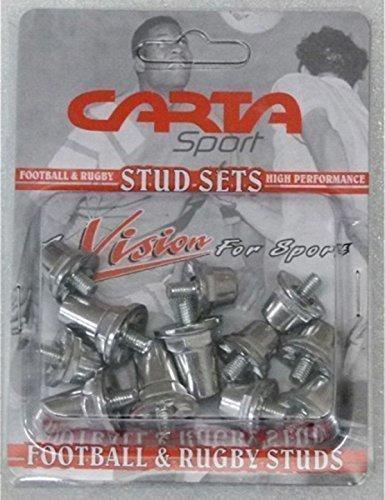 Tacos para botas de fútbol, aluminio, pack de 12, ALI