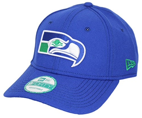 Structured Hat Throwback Adjustable - Seattle Seahawks New Era 9Forty NFL