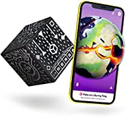 MERGE Cube - Hold Virtual 3D Objects Using Augmented Reality, STEM Tool for Learning Science at Home or in The