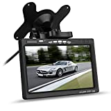 12V-24V-7-TFT-LCD-Screen-2CH-Video-Input-Color-HD-Monitor-for-Car-Rear-View-Reversing-Backup-Camera-DVD-Serveillance-Camera-STB-Satellite-Receiver-Black
