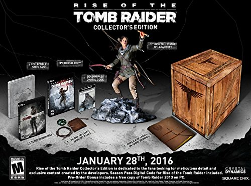 (Rise of the Tomb Raider Collector's Edition - PC (Digital Code Bundle))