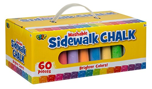 60ct Big Box of Sidewalk Chalk...