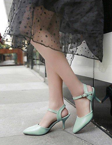 Beige Zapatos oficina Eu36 5 Casual Uk8 Blue Y azul Mujer Zq 5 tacones us10 Stiletto Noche semicuero De Fiesta Uk3 Eu42 Trabajo tacones us5 tac¨®n 5 Cn43 Beige Rosa Cn35 5 awxH0dqR