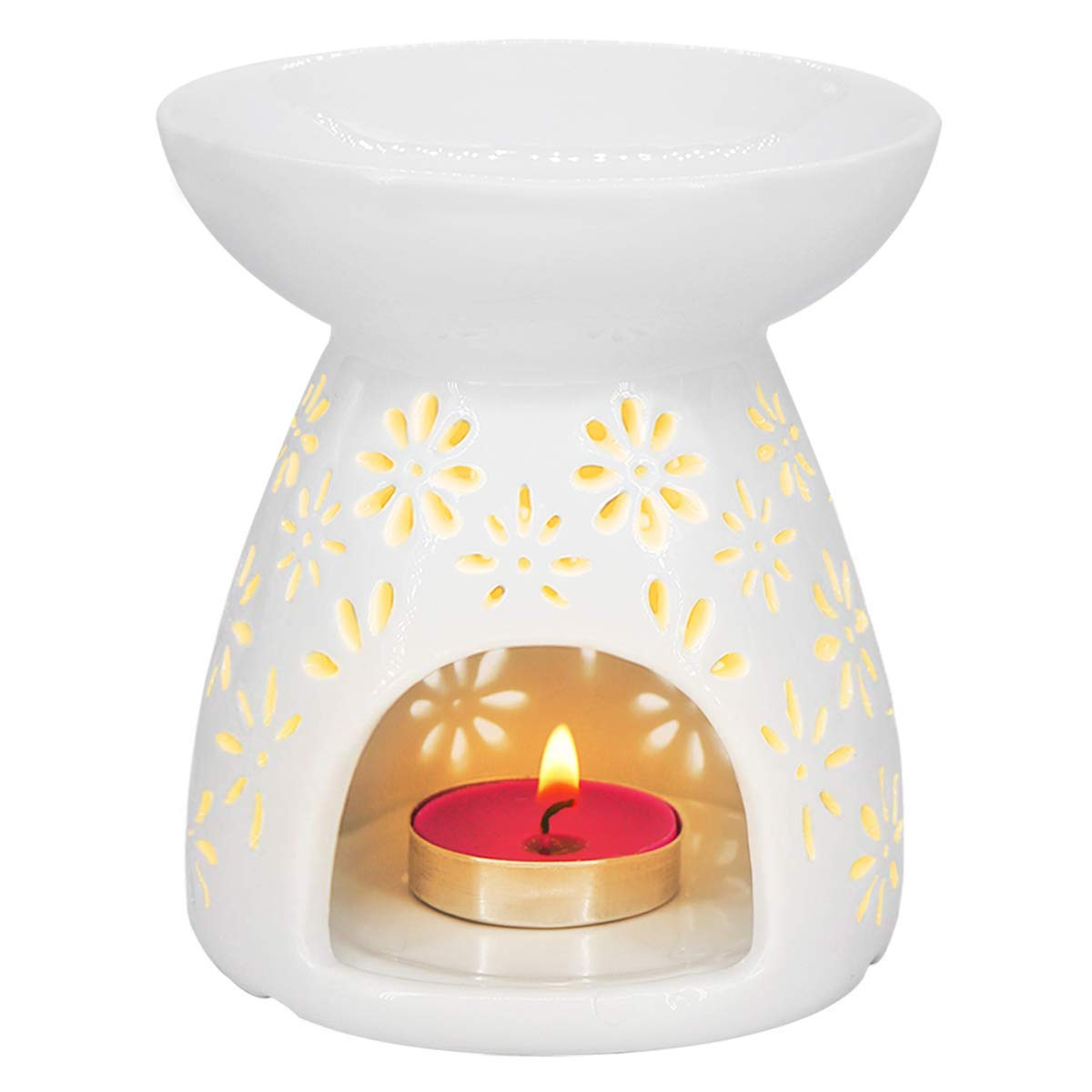 Amazon.com : Feng Shui Zen Ceramic Essential Oil Burner
