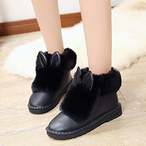 High JERFER Women White Shoes Leather Black Sneakers Shoes Flat 40 Black Shoes Single Up Leisure Top Zipper Lace 35 Bw5qnrw41