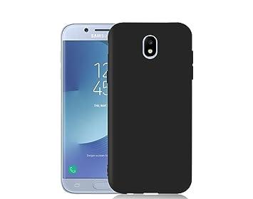 Funda Samsung galaxy J5 2017 negra espesor mínimo alta ...