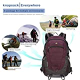 YTYC KIMLEE 42L Adjustable Waterproof Mountaineering Backpack Travel Bag KCB4015