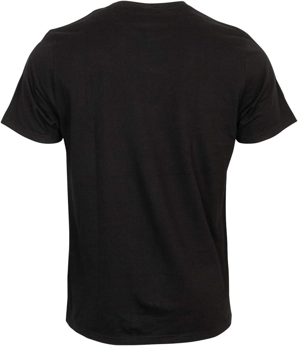 Pauli T-Shirt Shirt Oberteil Totenkopf Aufdruck Coppergold Kollektion 2020 Herren M/änner schwarz FC St