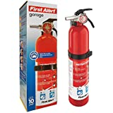 FIRST ALERT Rechargeable Garage Fire Extinguisher (Red)