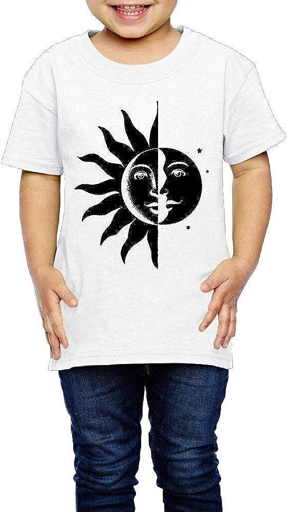 Baby Boys Fashion Sun and Moon Children Organic T-Shirt Short ...