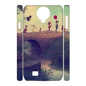 Samsung Galaxy S4 I9500 Cover Case, DDdiy Winnie the Pooh Custom 3D Cover Case for Samsung Galaxy S4 I9500