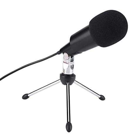 Micrófono de Condensador, Portatil Micrófono de Condensador con ...