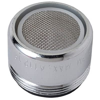 BrassCraft SF0051X Chrome Faucet Aerator with 13/16-Inch-27 Male Thread