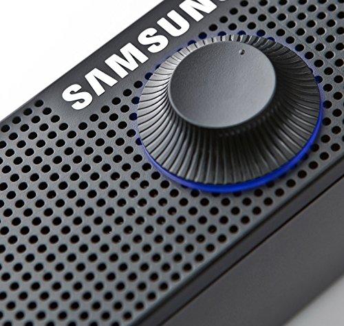 Samsung Black PC Monitor Sound Bar Speaker Volume LED USB ...