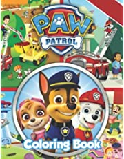 PAW Patroll Coloring Book: 100 Pages, A Fun PAW Patroll Coloring Gift Book for Boys and Girls Who loves PAW Patroll