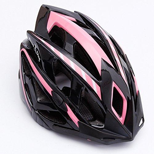 ZHDING Bike Helmet Specialized for Road Mountain Biking Safety Certified Bicycle Helmets for Adult Men Women (Pink)