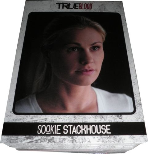 True Blood 2013 Archives Hand Collated Trading Card Set (72 Cards)